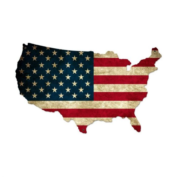 Usa United States Flag Vintage Sign on american revolution bicentennial flag, map of the united states area codes, texas united states flag, map of the united states black, map of the world flag, map of the statue of liberty, map of the philippines flag,